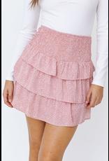 Skirts 62 Pretty In Pink Pattern Ruffle Skirt