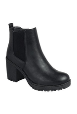 Shoes 54 High Tower Black Boot