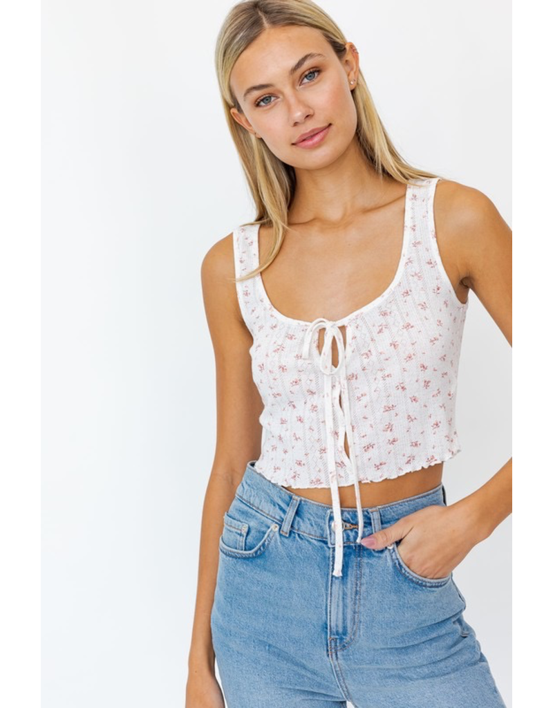 Tops 66 Sweet Floral Romance Top