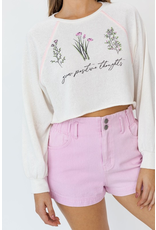 Tops 66 Grow Positive Thoughts Top