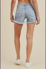 Shorts 58 High Rise On The Fray Denim Shorts