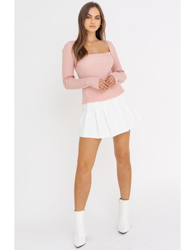 Skirts 62 White Pleated Tennis Skirt w/Zipper