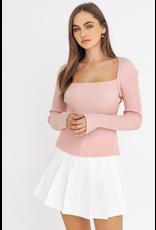 Tops 66 Blush Babe Sweater