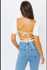 Tops 66 Open Tie Back Bodysuit