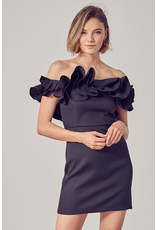 Dresses 22 Let's Ruffle Around Party Dress (Three Colors)