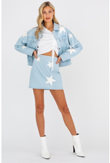 Outerwear Always A Star Light Wash Denim Jacket