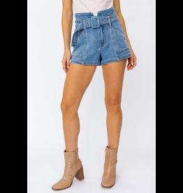 Shorts 58 Get It Girl Paper Bag Denim Shorts