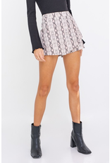 Skirts 62 Subtle Snake Blush Skort