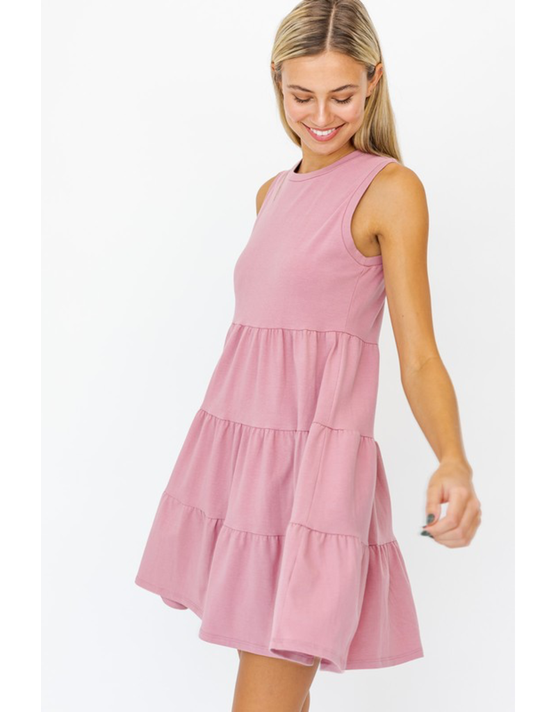 Dresses 22 Just Me Blush Pink Dress