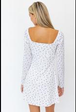 Dresses 22 Florals Forever White/Lavender Dress