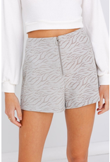 Shorts 58 On The Prowl TIger Print Sage Shorts