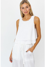 Tops 66 Sweet Surrender White Top