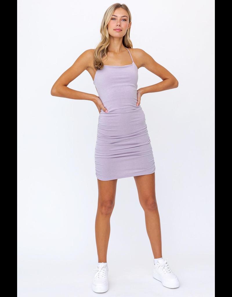 Dresses 22 Let's Go Lilac Open Back Dress