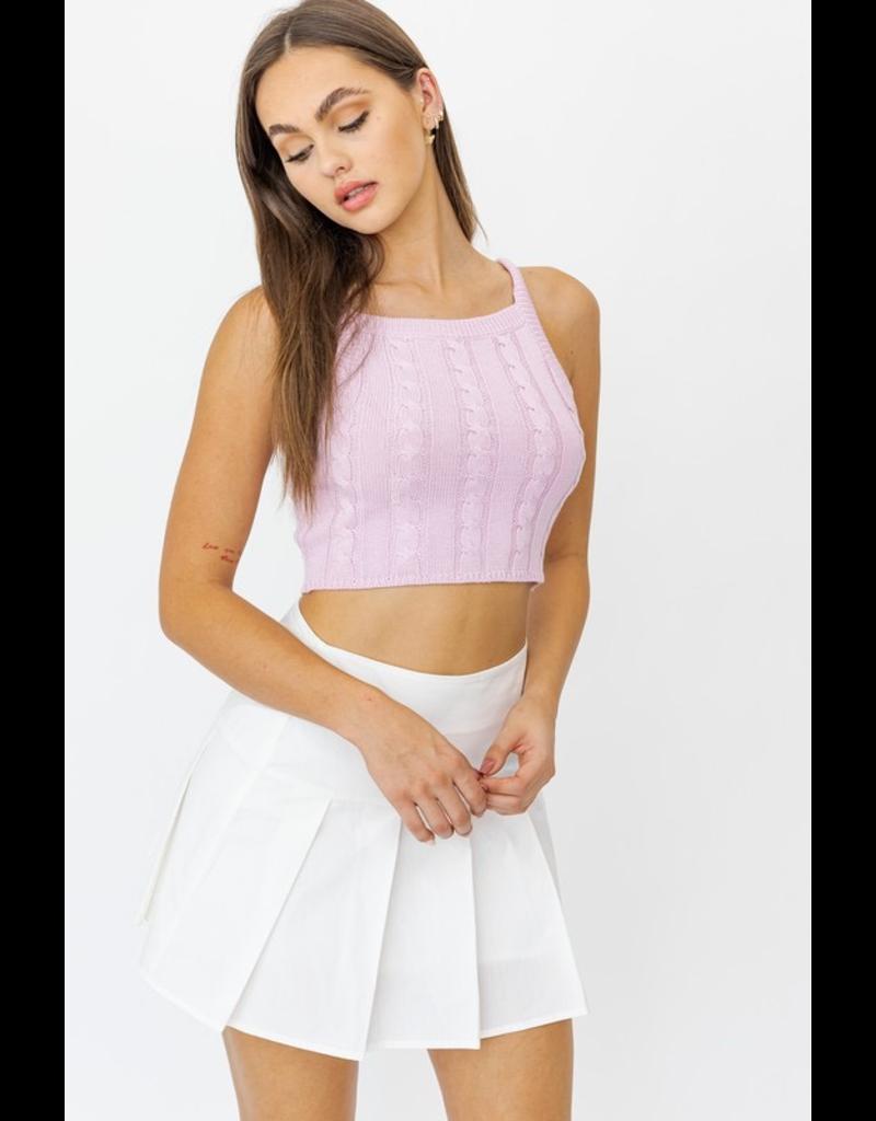 Tops 66 Sweet Pea Pink Sleeveless Sweater