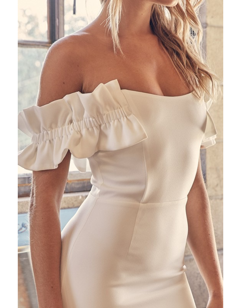 Dresses 22 You're Such A Doll White Dress