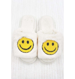 Shoes 54 Smile Slippers Fuzzy