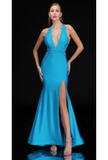 Dresses 22 Bright Now Blue Formal Dress