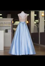 Formalwear Enchanted Evening Light Blue Formal Dress