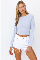 Tops 66 Blue Sky Babe Open Back Top