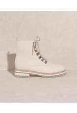 Shoes 54 Put It In Neutral Spring Lace Up Boot