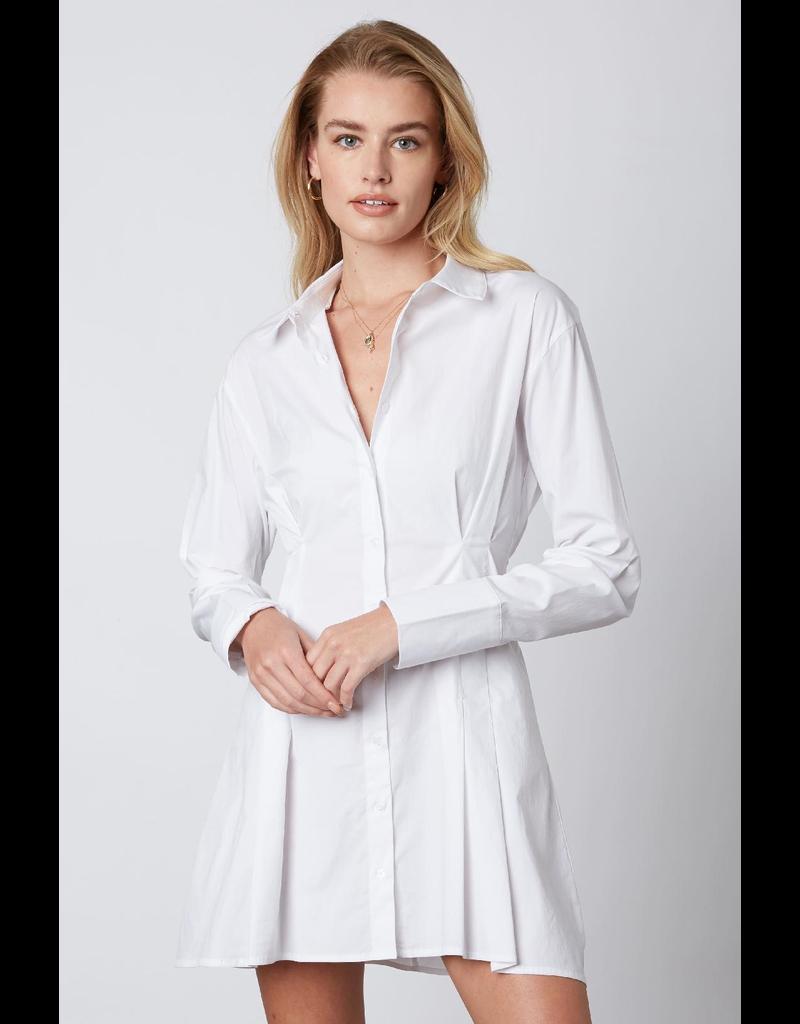 Dresses 22 White Cotton Button Front Shirt Dress