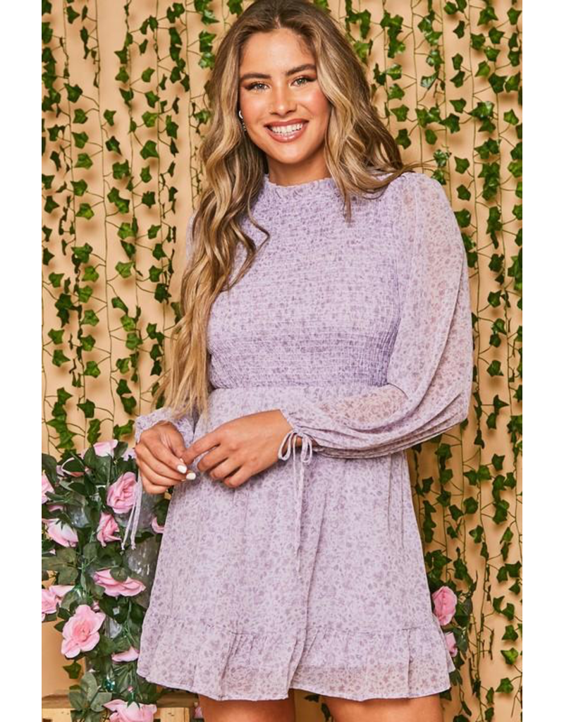 Dresses 22 Beautiful Blooms Lavender Smock Dress