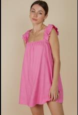 Dresses 22 Hot Pink Baby Doll Dress