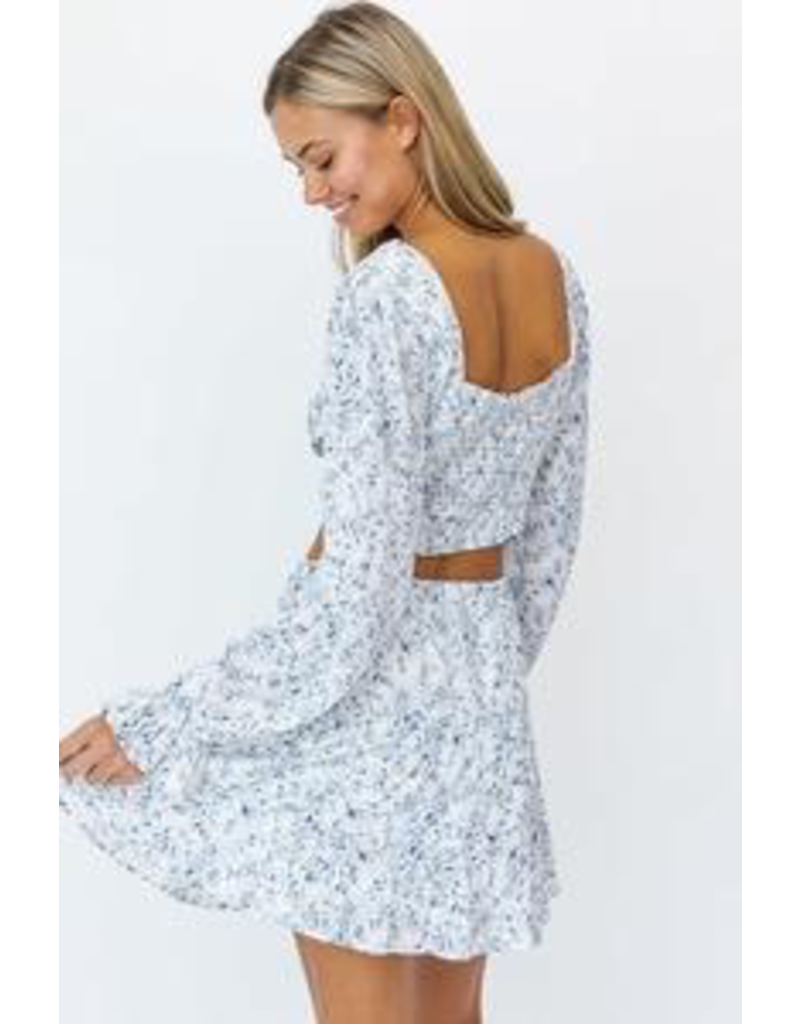 Skirts 62 Oh My Blues Floral Skirt