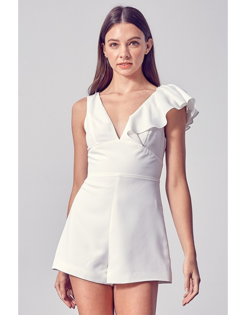 Rompers 48 Right To Ruffle Romper (Available in Three Colors)