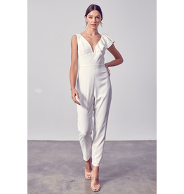Jumpsuit Celebrate The Moment White Jumpsuit