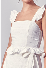 Tops 66 All The White Reasons Ruffle Top