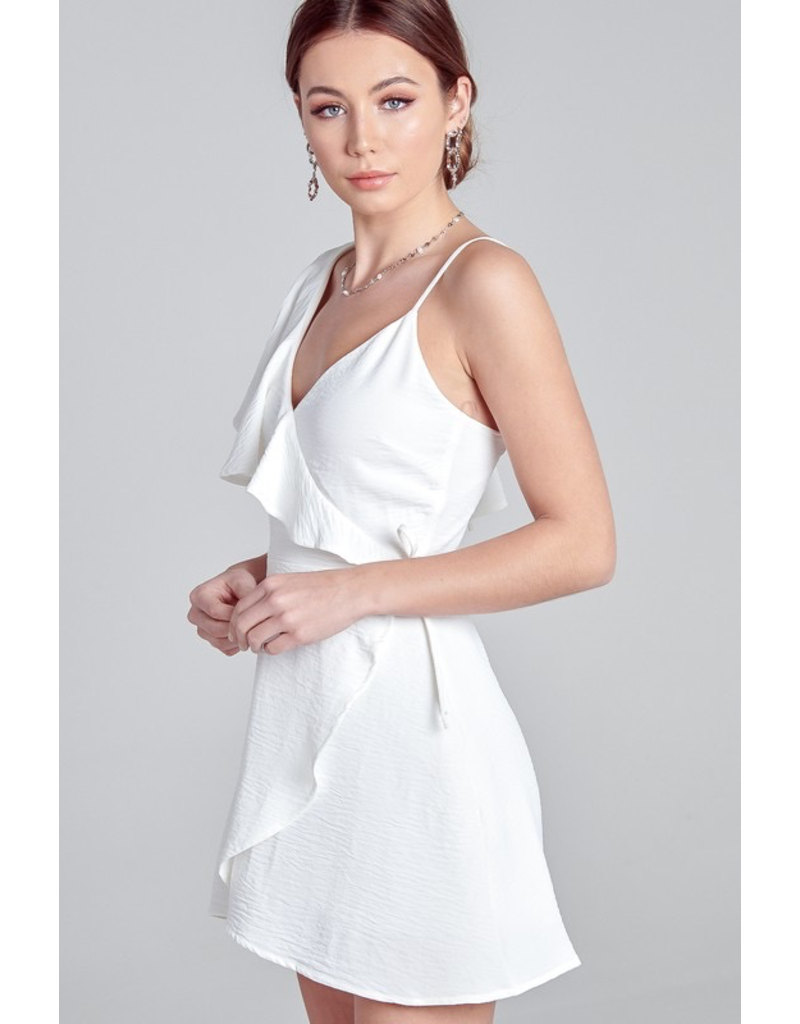 Dresses 22 One Shoulder Ruffle Dress (Available in Three Colors)