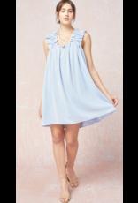 Dresses 22 Baby Blue Baby Doll Ruffle Dress