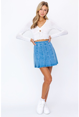 Skirts 62 Denim Daze Pleated Skirt