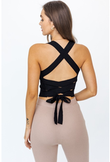 Tops 66 Best Time Strappy Back Top (Available in Two Colors)