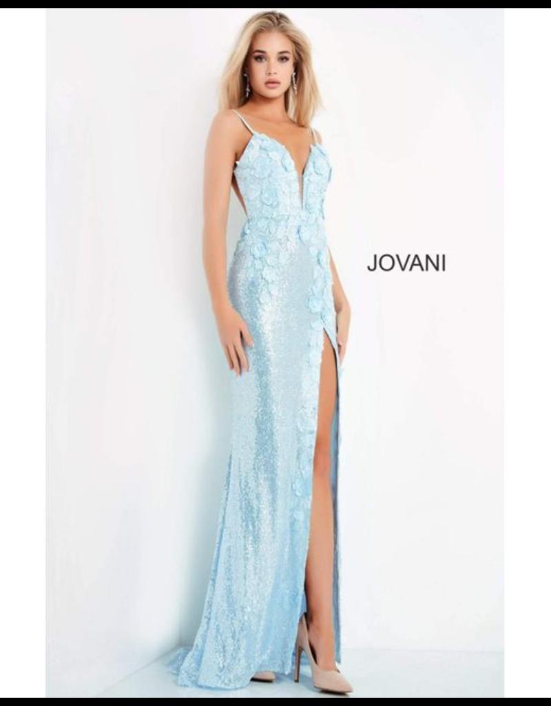 Dresses 22 Jovani Lovely Light Blue Formal Dress