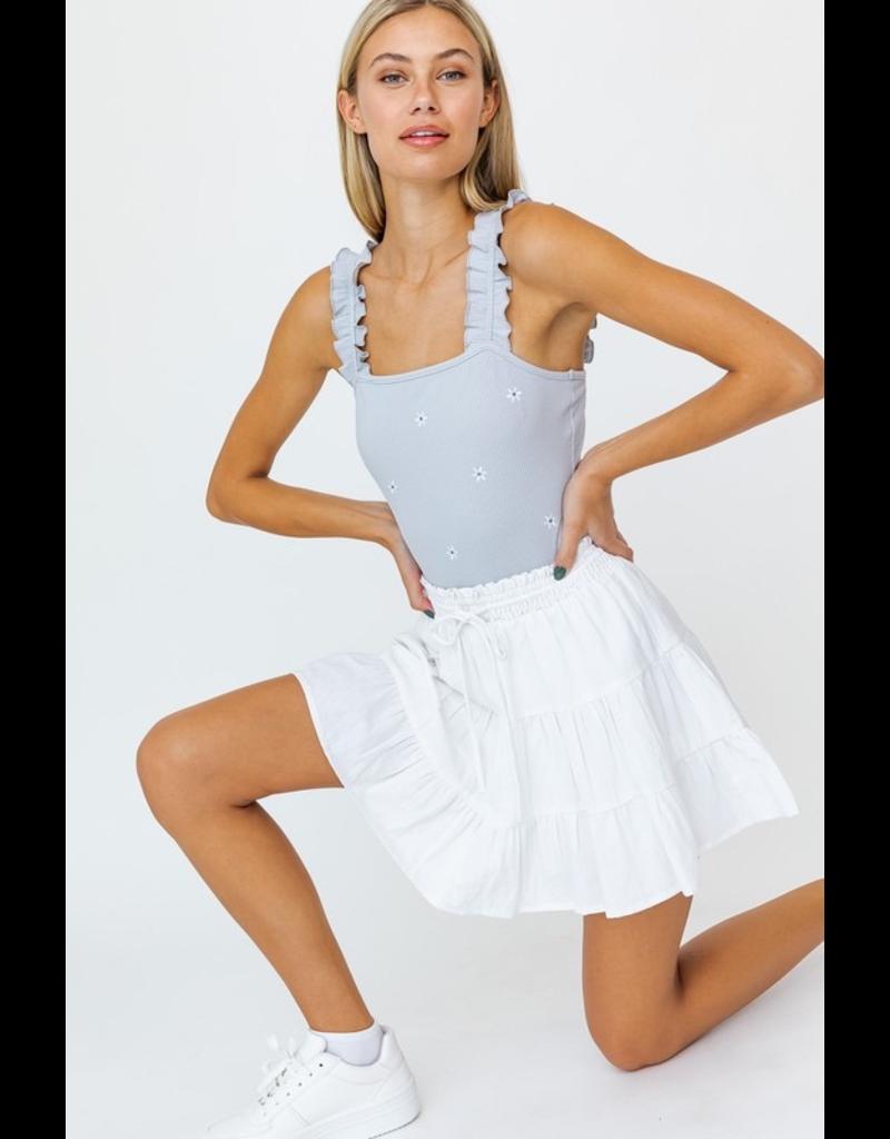 Tops 66 Hello Blossom Bodysuit