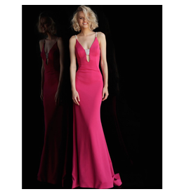 Formalwear Jovani Elegant Dream Hot Pink Formal Dress