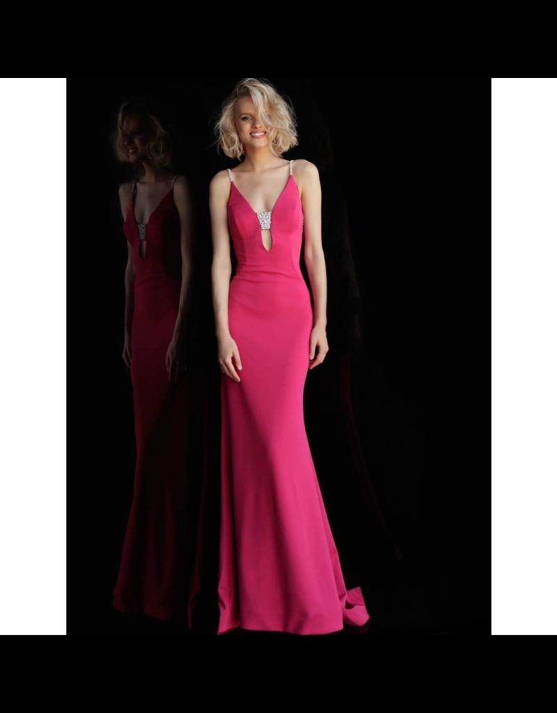 Formalwear Jovani Elegant Dream Hot Pink Formal Dress
