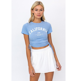 Tops 66 California Blue Tee