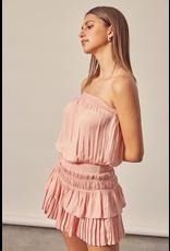 Dresses 22 Strapless Coral Cloud Dress