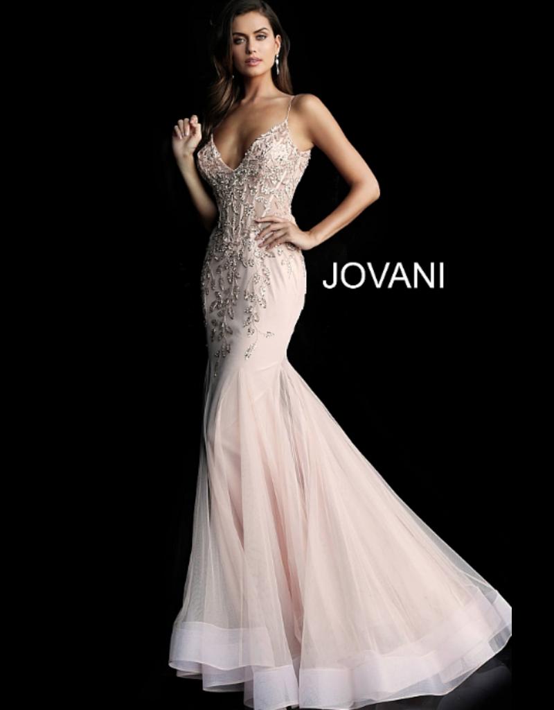 Dresses 22 Jovani Blush Dream Formal Dress