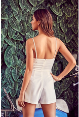 Rompers 48 Party Perfect White Ruffle Romper