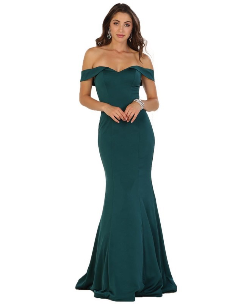 Dresses 22 Best Day Off Shoulder Formal Dress (Available In 5 Colors)