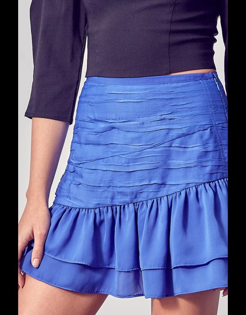 Skirts 62 Ruched Ruffle Skirt