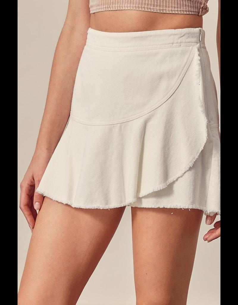 Skirts 62 Fun In The Sun White Skort