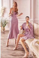 Dresses 22 Make Me Blush Satin Slip Midi Dress (Available in 3 Colors)