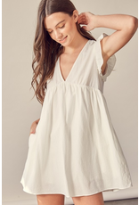 Rompers 48 Celebrate With Me  White Baby Doll Romper