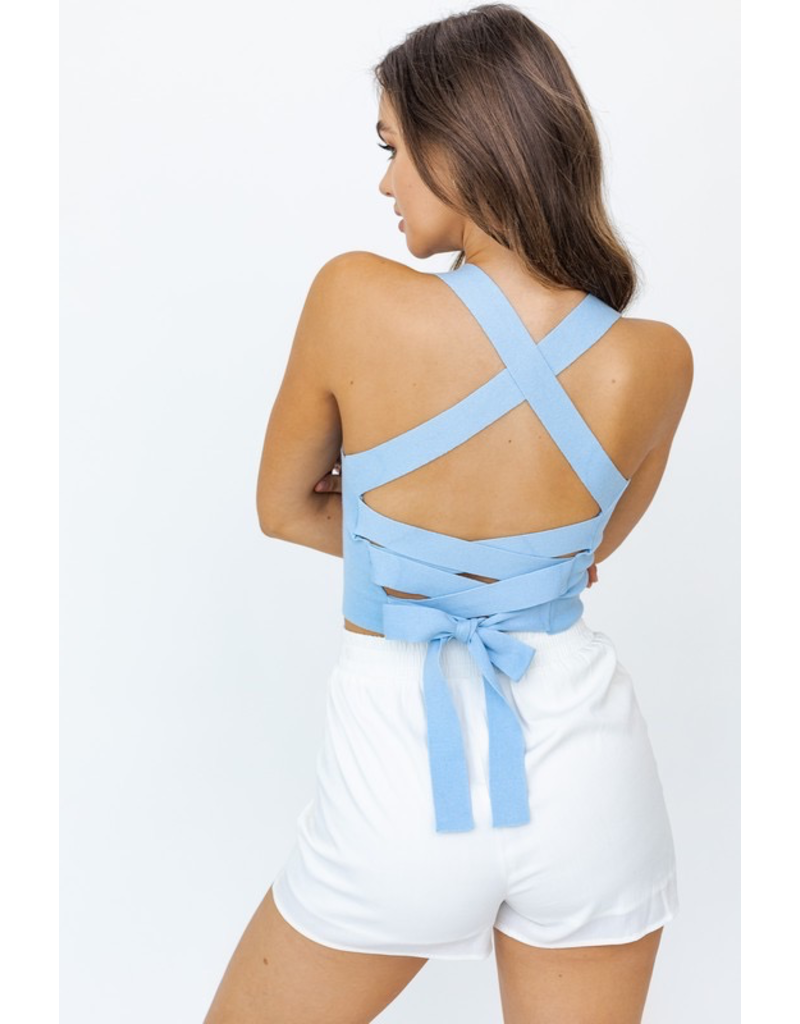 Tops 66 Best Time Strappy Back Top