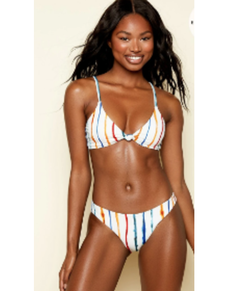 Swimsuits Watercolor Stripe Nocturnal Bottom